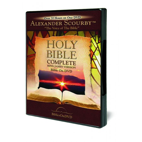 Alexander Scourby Complete KJV Bible on DVD