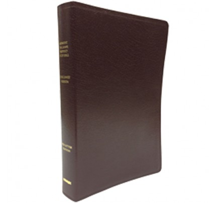 Tim LaHaye Prophecy Bible KJV (Red Bonded Leather)